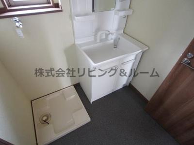 【洗面所】パークハイム・クー