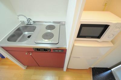 【キッチン】レオパレスROYALCOURT