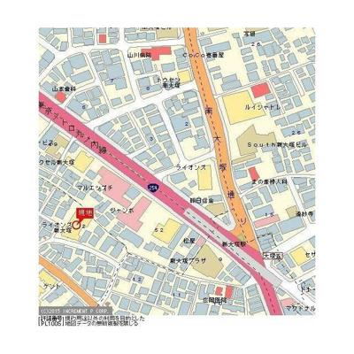 【地図】ライオンズマンション新大塚