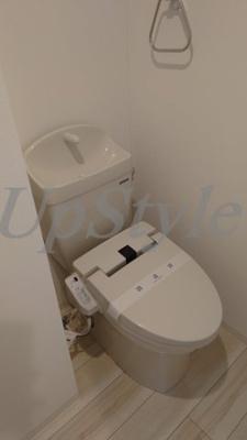 【トイレ】エルスタンザお花茶屋