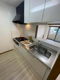 【キッチン】アークプラザ弘明寺 リフォーム済 3LDK ペット飼育可能
