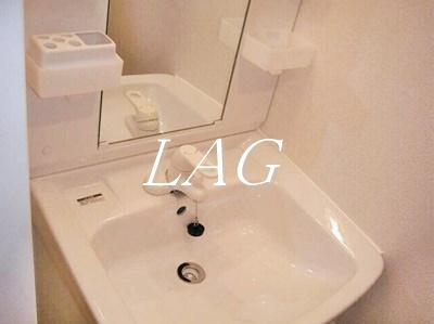 独立洗面所です。