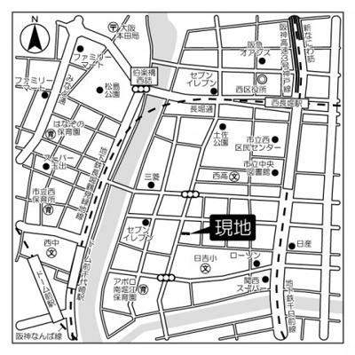 【地図】F-studio VERONICA