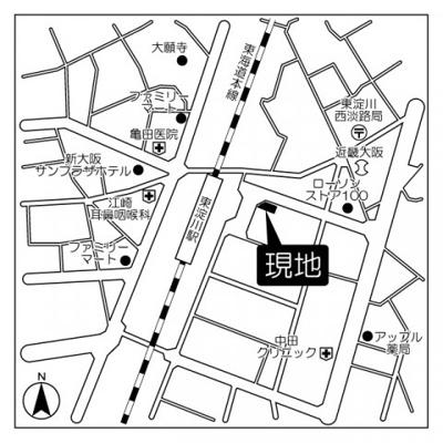 【地図】グランドーム国際