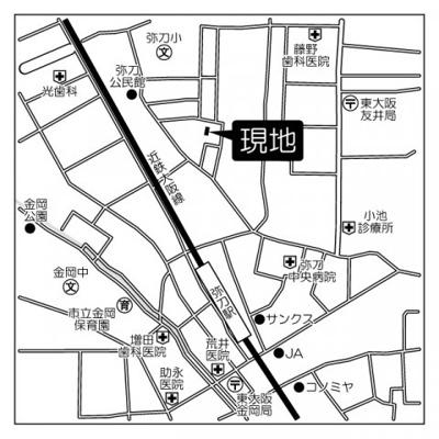 【地図】ハイクレールみと