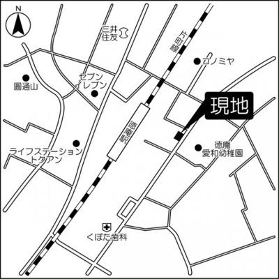 【地図】フェニックスハイツ徳庵