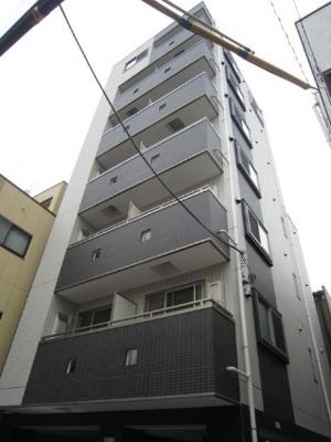 鉄骨造のマンションです。