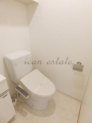 【トイレ】ジョイシティ蔵前