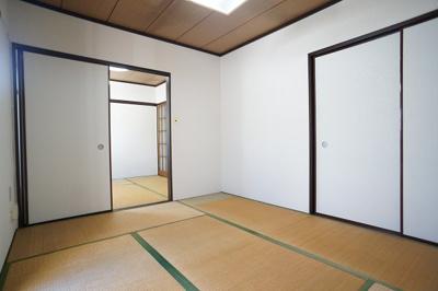 【寝室】コーポ石井