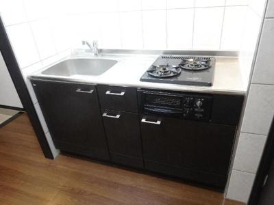 システムキッチン(2口・グリル)