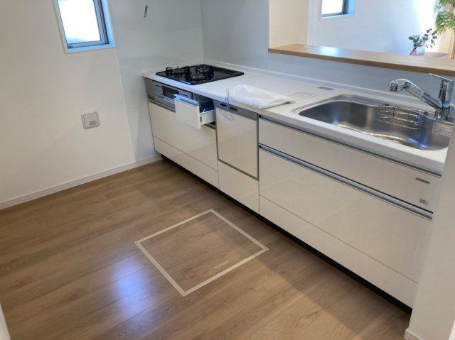 【キッチン】デザイン住宅「FIT」糸島市神在東1丁目3期 4LDK