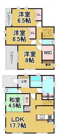 デザイン住宅「FIT」糸島市神在東1丁目3期 4LDK
