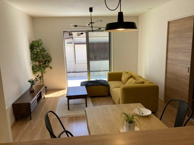 【居間・リビング】デザイン住宅「FIT」糸島市神在東1丁目3期 4LDK