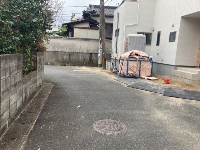 【前面道路含む現地写真】デザイン住宅「FIT」糸島市浦志2丁目1期 4LDK