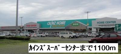 カインズスーパーセンターまで1100m