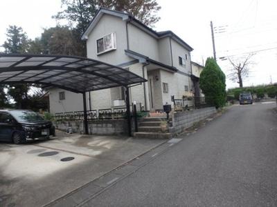 【前面道路含む現地写真】坂戸市中小坂中古戸建