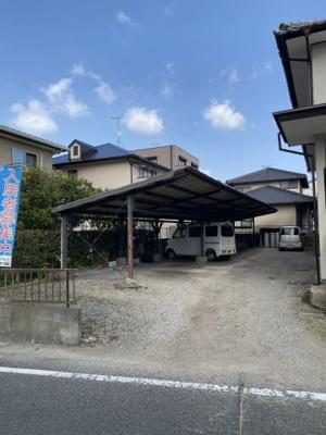 【駐車場】大穂荘