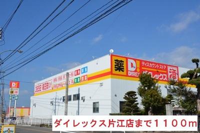 ダイレックス片江店まで1100m
