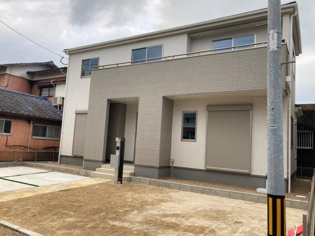 【外観】グラファーレ糸島市加布里2期 オール電化住宅4LDK