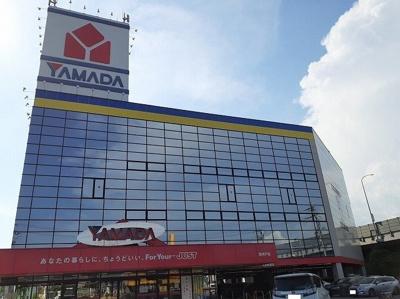 ヤマダデンキ西神戸店まで550m