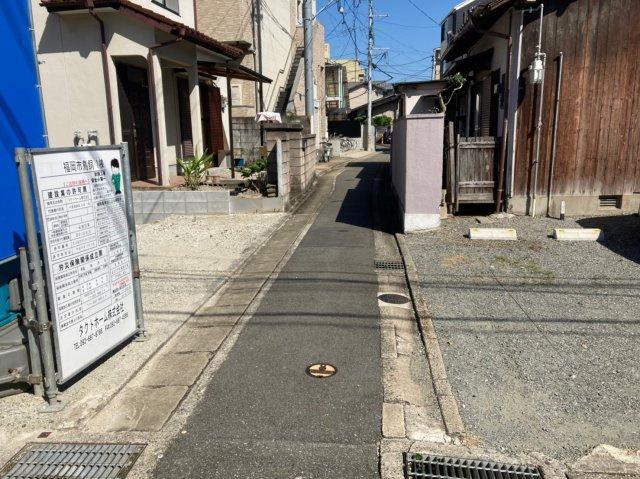 【前面道路含む現地写真】グラファーレ中央区鳥飼 3LDK