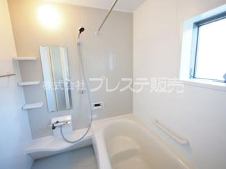 浴室施工例/浴室暖房乾燥機を標準装備!