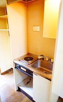 【キッチン】《駅徒歩5分》海老名市東柏ヶ谷5丁目一棟アパート