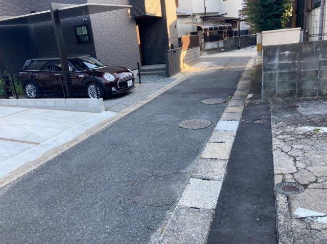 【前面道路含む現地写真】ケイアイフィット太宰府市通古賀1期 4LDK