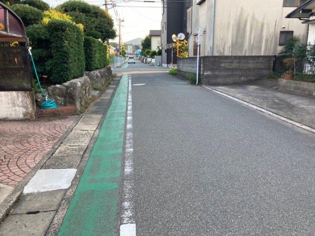 【前面道路含む現地写真】ケイアイフィット筑紫野市上古賀1期2号棟 4LDK