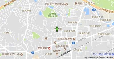 【地図】ラマージュワン (株)Roots