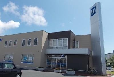 七十七銀行蛇田支店まで1300m