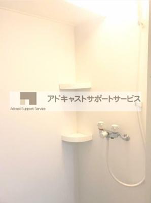 シンプルで使いやすいシャワールームです