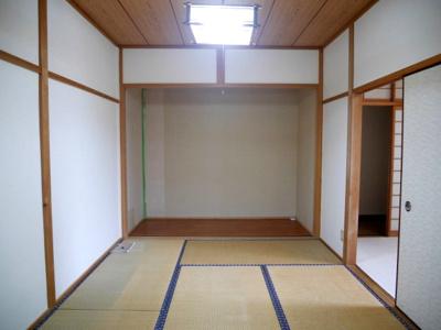 【和室】勝央町豊久田 一戸建て4DK