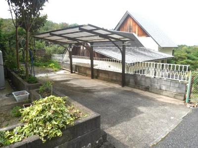 【駐車場】勝央町豊久田 一戸建て4DK