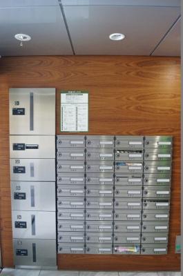 便利な宅配BOX装備