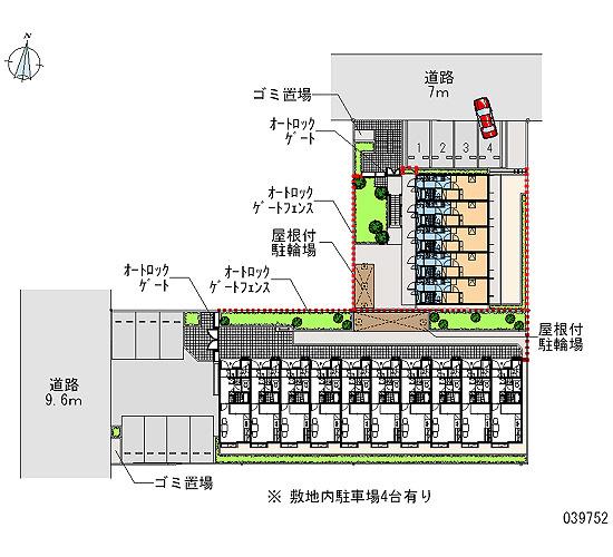 【区画図】リバーサイド西水元Ⅱ