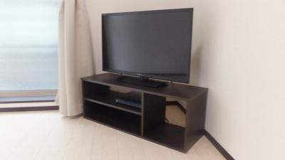 32型の液晶テレビ標準設置。その他家電製品が揃っています