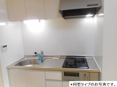 【キッチン】プレジールS岩塚