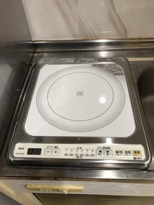 【キッチン】レオパレス岩塚第2