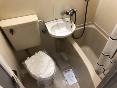 【浴室】レオパレス岩塚第2