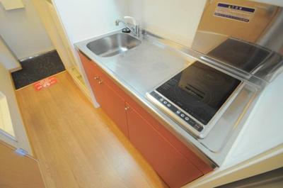 広めのキッチンなので調理もしやすい!