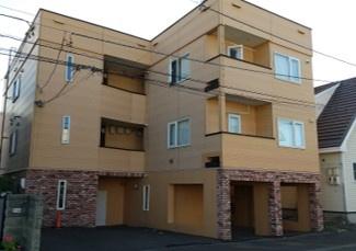 【外観】札幌市北区新琴似一条10丁目一棟アパート