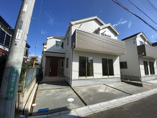 新京成線「高根公団」駅徒歩11分の全3棟の新築一戸建てです。