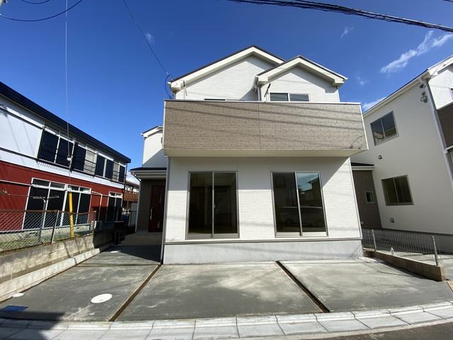 南西道路につき陽当り良好な新築一戸建てです。
