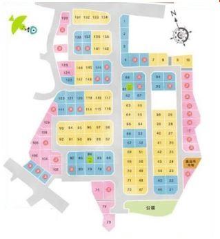 【区画図】大平2丁目 分譲150区画 125号地