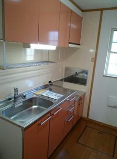 【キッチン】《満室高稼働中!》滋賀県長浜市法楽寺町一棟アパート