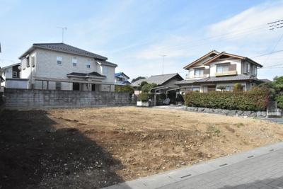 【外観】鴻巣市大間 売地