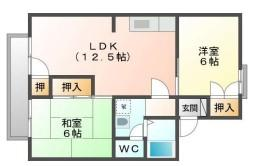 【間取り】《軽量9.12%》北九州市小倉南区葛原本町6丁目2棟一括売アパート