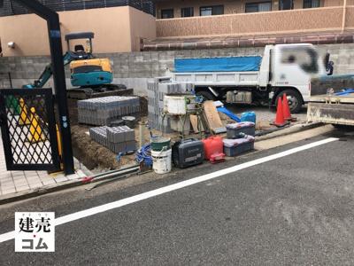神戸市長田区庄山町1丁目 新築一戸建て 2021/9/29現地撮影