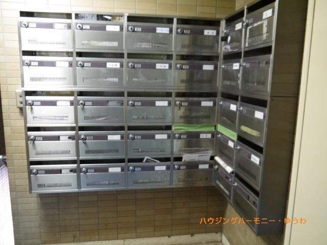 ポスト設置で、郵便受取りも便利です
